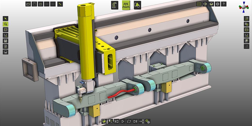新松选择CENIT开发用于其新型三维激光机床的仿真和编程的软件