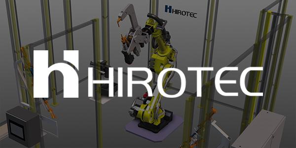 Hirotec白色Logo