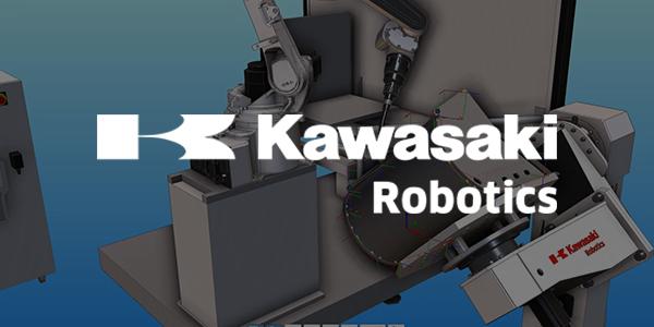 KAWASAKI白色logo