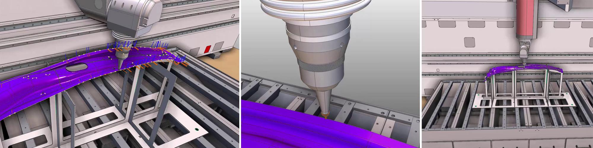 新松机器人自动化有限公司于2021年正式推出FLC系列三维五轴激光切割机