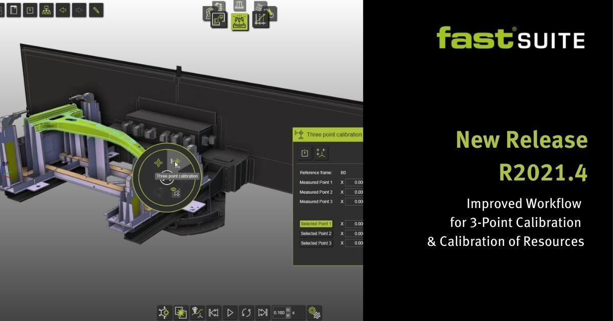 FASTSUITE飞思德R2021.4的三点校准流程得到优化